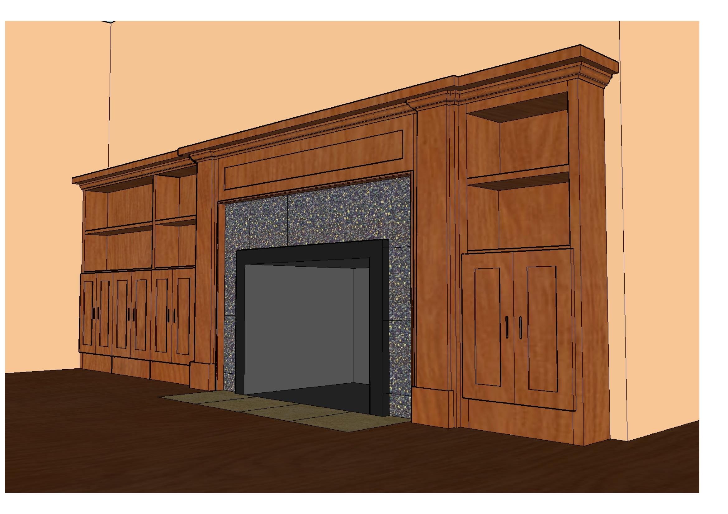 Trabajos de diseño - Diseño perro aullando - Construction LLC ()